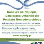 plakat konkurs ROP
