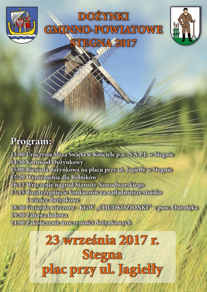 plakat_dozynkiStegna2017
