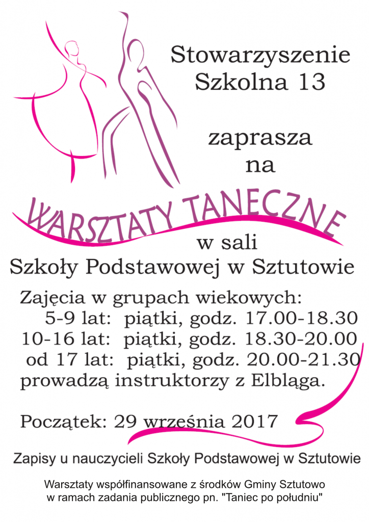taniecpopoludniu_plakat