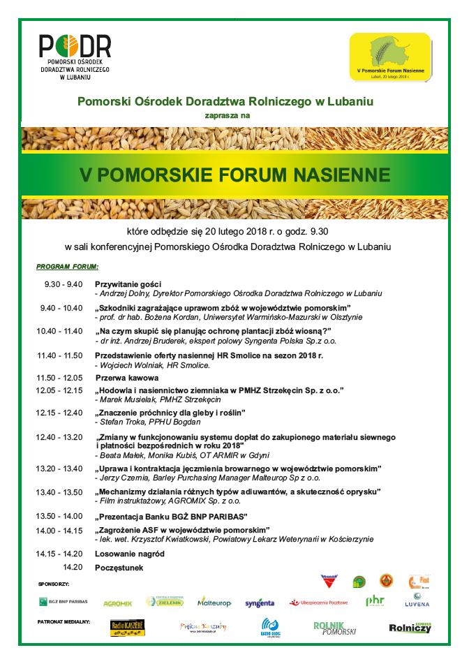 Forum nasienne w Lubaniu