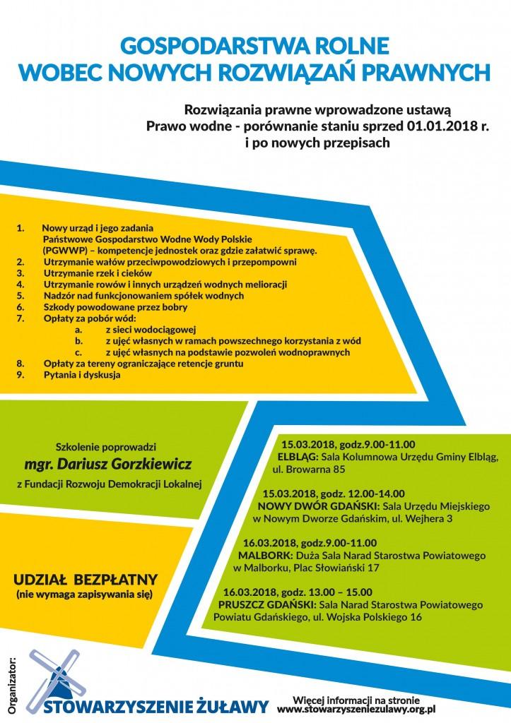 Plakat Szkolenie