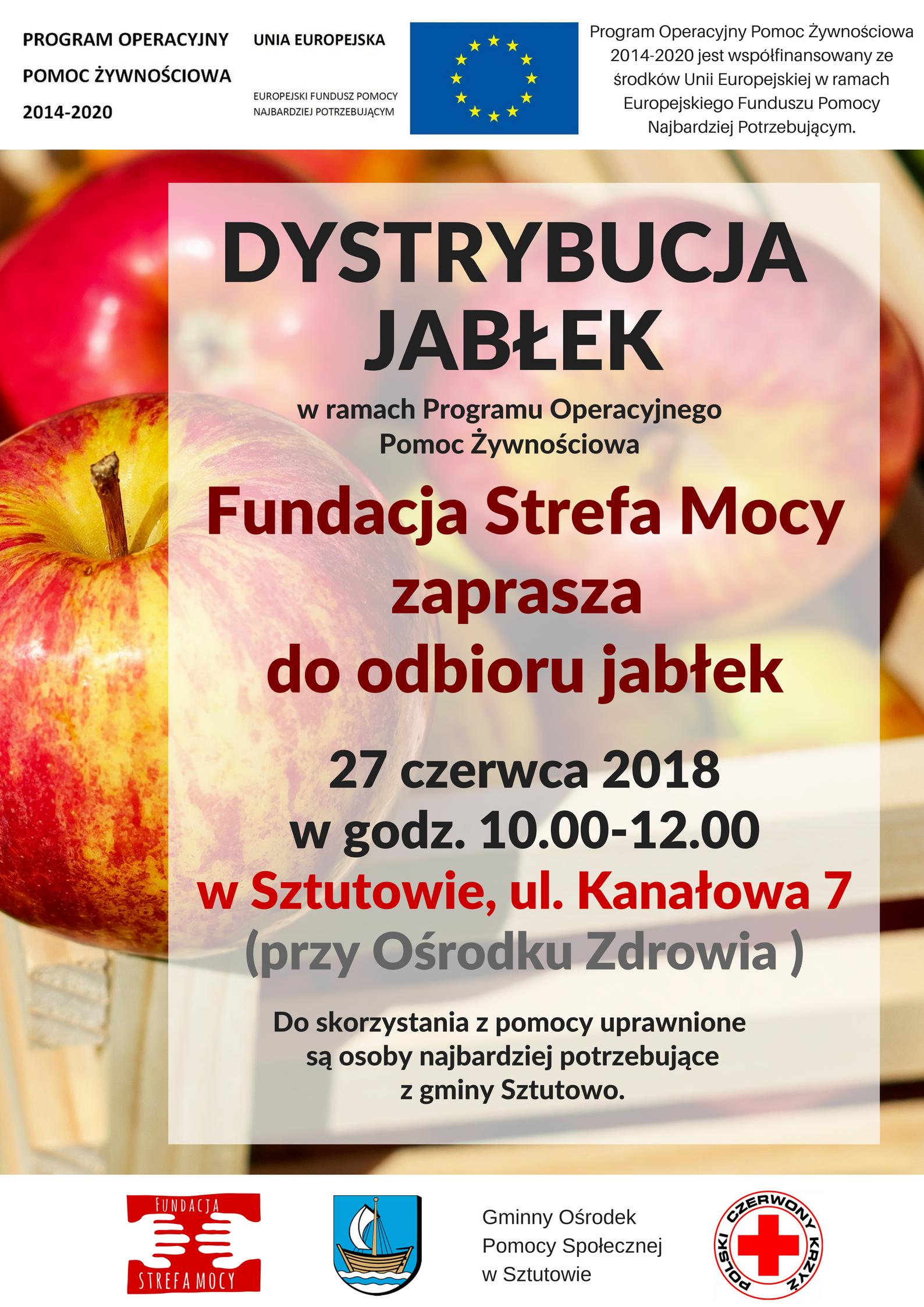 Dystrybucja jabłek